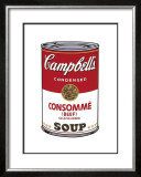 Campbell's Soup I: Consomme, c.1968 Poster by Andy Warhol