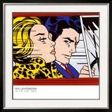 In the Car, c.1963 Poster by Roy Lichtenstein