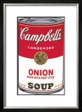 Campbell's Soup I: Onion, c.1968 Prints by Andy Warhol