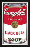 Campbell's Soup I: Black Bean, c.1968 Prints by Andy Warhol