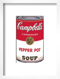 Campbell's Soup I: Pepper Pot, c.1968 Poster by Andy Warhol