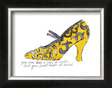 Yellow Pattern Shoe, c.1955 Prints by Andy Warhol