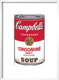Campbell's Soup I: Consomme, c.1968 Prints by Andy Warhol