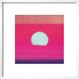 Sunset, c.1972 (hot pink, purple, red, blue) Print by Andy Warhol
