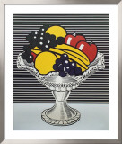 Still Life with Crystal Bowl Poster by Roy Lichtenstein