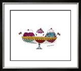 Ice Cream Dessert, c.1959 (Three Scoops) Art by Andy Warhol
