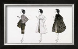 Three Female Fashion Figures, c.1959 Prints by Andy Warhol