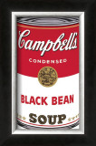 Campbell's Soup I: Black Bean, c.1968 Posters by Andy Warhol