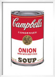 Campbell's Soup I: Onion, c.1968 Posters by Andy Warhol
