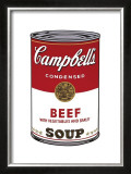 Campbell's Soup I: Beef, c.1968 Posters by Andy Warhol