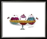 Ice Cream Dessert, c.1959 (Three Scoops) Prints by Andy Warhol