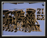 Train, c.1983 Posters by Andy Warhol