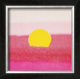 Sunset, c.1972 (hot pink, pink, yellow) Print by Andy Warhol