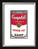 Campbell's Soup I: Pepper Pot, c.1968 Prints by Andy Warhol