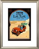 Tintin au Pays de l'Or Noir, c.1950 Print by  Hergé (Georges Rémi)
