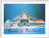 20th Anniversary Of Lincoln Center 1979 Limited Edition Framed Print by Larry Rivers