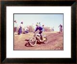 Early Motocross Framed Giclee Print