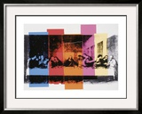 Detail of the Last Supper, c.1986 Prints by Andy Warhol