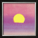 Sunset, c.1972 (pink, purple, yellow) Print by Andy Warhol