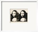 Double Mona Lisa, c.1963 Prints by Andy Warhol