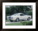 1965 Shelby GT350 Framed Giclee Print by David Newhardt
