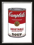 Campbell's Soup I: Vegetable, c.1968 Art by Andy Warhol