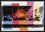 Detail of the Last Supper, c.1986 Art by Andy Warhol