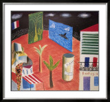 Bodega and Zanzibar Prints by David Hockney