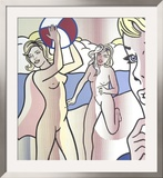 Nudes with Beach Ball Prints by Roy Lichtenstein