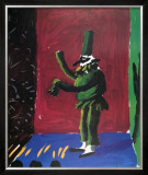 Pulcinella with Applause No. 107, 1980 Poster by David Hockney