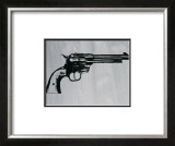 Gun, c.1981 Print by Andy Warhol