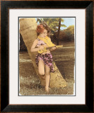 Ukulele Girl Framed Giclee Print by  Himani