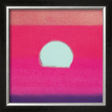 Sunset, c.1972 (hot pink, purple, red, blue) Posters by Andy Warhol