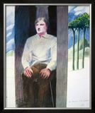 Prisoner from Amnesty International, 1977 (56) Limited Edition Framed Print by David Hockney
