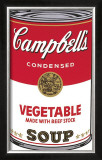 Campbell's Soup I: Vegetable, c.1968 Posters by Andy Warhol