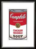 Campbell's Soup I: Chicken Noodle, c.1968 Print by Andy Warhol