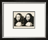 Double Mona Lisa, c.1963 Poster by Andy Warhol