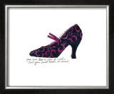 Blue and Pink Shoe, c.1955 Poster by Andy Warhol