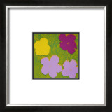 Flowers, c.1970 (Yellow, Lilac, Purple) Prints by Andy Warhol