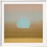 Sunset, c.1972 (gold, blue) Prints by Andy Warhol