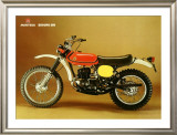 Montesa Enduro 250 Motorcycle Framed Giclee Print