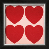 Hearts, c.1979-84 Art by Andy Warhol