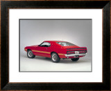 1969 Shelby GT500 Framed Giclee Print