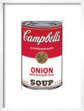 Campbell's Soup I: Onion, c.1968 Art by Andy Warhol