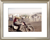 Early Motocross Framed Giclee Print