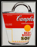 Soup Can Bag Art by Andy Warhol