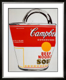 Soup Can Bag Prints by Andy Warhol