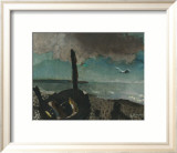 Boat on a Shore in Brittany Poster di Georges Braque