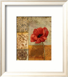 Poppy Flourish II Posters par T.c. Wood