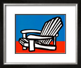 Adirondack Chair Art by Tom Slaughter